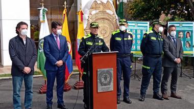 Policía lanza 'plan de choque' contra la criminalidad en Bogotá