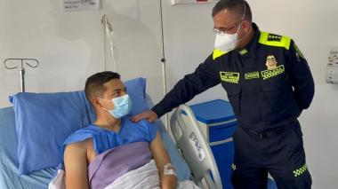 Testimonio de patrullero que resultó herido tras ataque en Bogotá