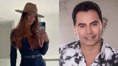 Lina Tejeiro y el divertido encuentro con su exsuegro Jhonny Rivera