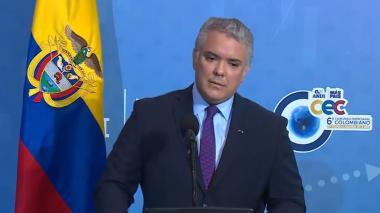 """""""Colombia se hace respetar de cualquier forma de corrupción"""": Iván Duque"""