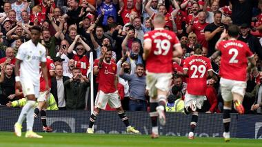 El Manchester United golea al Leeds al ritmo de Bruno Fernandes y Pogba