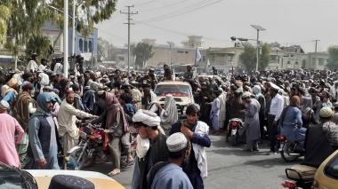 Los talibanes entran en Kabul