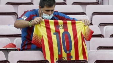La salida de Messi dispara la búsqueda de objetos coleccionista un 1200%