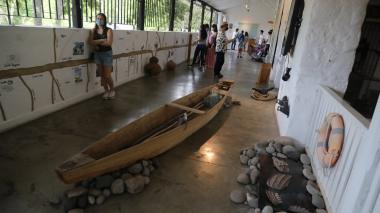 Con arte se le da un nuevo significado al río Magdalena