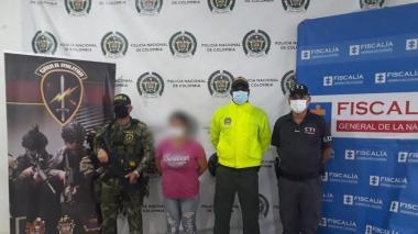 Mujer fue capturada por violencia intrafamiliar en Montería