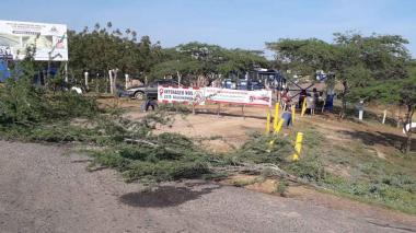Indígenas levantaron bloqueo al botadero de basuras en Riohacha