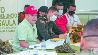 Gobernador de Sucre anuncia instalación de base del Ejército en Majagual