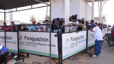 Registro de migrantes venezolanos en la Guajira es menor al 50%