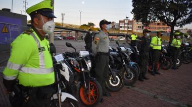 351 capturas en 10 días de intervención a Bogotá