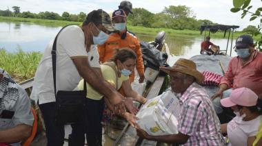 Reubican a las primeras familias afectadas por el río Cauca