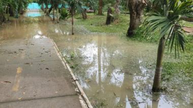 Río Sinú se adentra en el parque de la Ronda en Montería