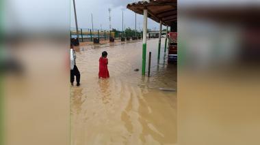 Inundaciones en La Guajira por fuertes lluvias