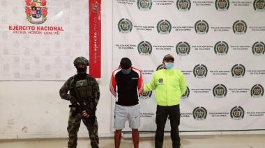Cayó en Montería alias 'Tonelada', presunto cabecilla del Clan del Golfo