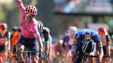 Magnus Cort Nielsen se impuso en la etapa 12 de la Vuelta a España