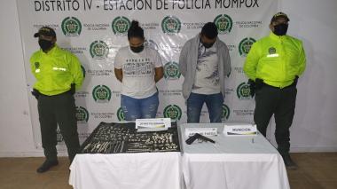 Capturan a presuntos autores de un millonario robo en Mompox