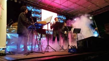 Barranquijazz  se conecta con el público en el Sagrado Corazón