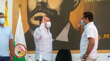 Ante la Asamblea se posesionó el gobernador encargado de La Guajira