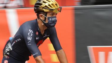 Richard Carapaz abandona la 76 Vuelta a España