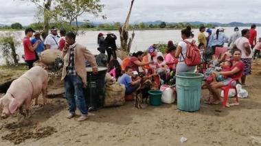 Declaran alerta roja en la Mojana y San Jorge sucreño por inundaciones