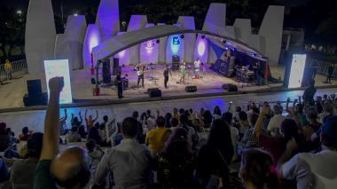 Sonidos caribeños y goce del público: así fue el inicio de Barranquijazz