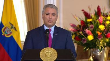 Presidente Iván Duque anunció nuevo certificado digital
