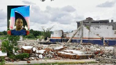 Otra víctima en tragedia Pizano: murió hombre herido tras caída de plafón