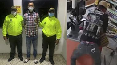 Lo señalan de vandalismo y hurto en supermercado en Soledad