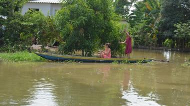 Sucre bajo el agua: en la mitad del territorio sufren por ola invernal