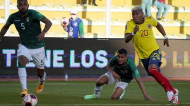 Bolivia vs. Colombia: minuto a minuto del partido de Eliminatoria en La Paz