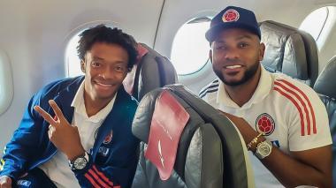 La selección Colombia amaneció en Luque, Paraguay