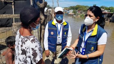 Fueron reubicadas 22 familias damnificadas en Maicao