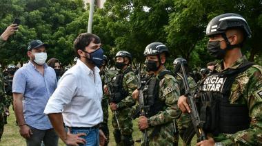 Desde hoy el Ejército estará patrullando en las calles: alcalde Pumarejo