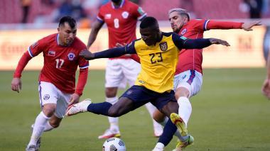 Ecuador empató con Chile en Quito por la Eliminatoria Sudamericana