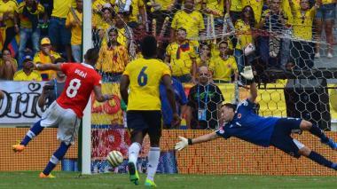 Dos décadas sin que Colombia pueda vencer a Chile de local