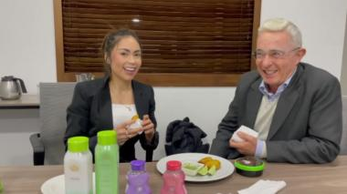 'Epa Colombia' enciende las redes sociales tras video con Álvaro Uribe