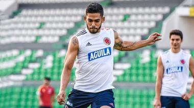 El 'Rifle' Andrade abandona la convocatoria de la Selección Colombia