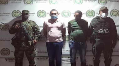 Caen tres de 'los Pachenca' en área rural de Santa Marta