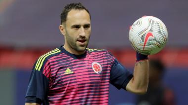 David Ospina no juega en su equipo, pero brilla en la selección Colombia