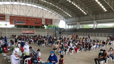 Vacunados en otra ciudad completan el esquema de Pfizer en Santa Marta