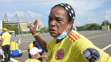 Mamá de Miguel Ángel Borja confía en que su hijo anotará contra Chile