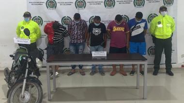 Desarticulada banda dedicada al hurto en Montería