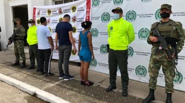 Caen presuntos responsables de la muerte de tres policías en el sur de Bolívar