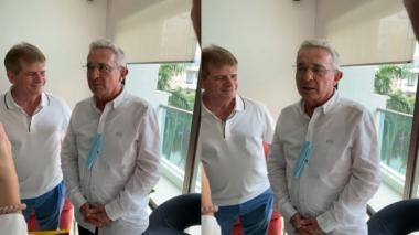 """""""Yo no voy a apoyar candidatos"""": expresidente Uribe sobre las presidenciales"""