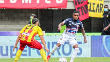 Pereira vs. Junior: Carmelo Valencia vuelve a comandar el ataque 'Tiburón' ante Pereira