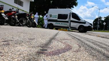 Ataque de sicarios en Malambo deja a un mototaxista herido