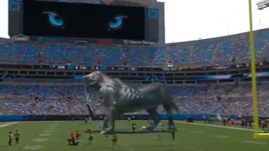 ¡Impresionante! Equipo de fútbol americano sorprende con holograma en la NFL