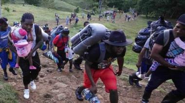 Advierten sobre el fuerte aumento de flujo migratorio en el Darién