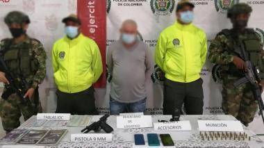 Cayó presunto cabecilla de una organización delincuencial en el Bajo Sinú