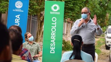 Inician construcción de redes de alcantarillado en Santa Elena, Baranoa