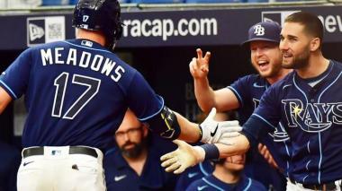Los Rays de Tampa clasificaron a la postemporada de las Grandes Ligas